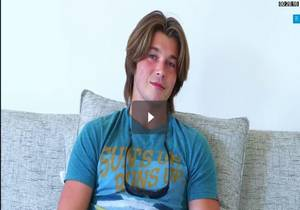 Handsome Shy Surfer Dude Slater Turner Jerks Off
