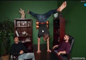 An Acrobatic Threesome – Johnny Rapid, Mason Lear & Tom Bentley