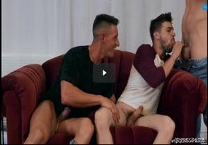 Shooting Their Loads – Johnny Rapid, Jax Thirio & Dalton Riley