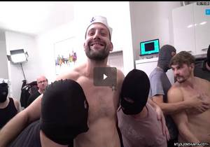30 Guys Sperm Party Scene 1