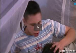 Corbin & Janos fuck inside a tent