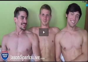 Tyler Connors, Scotty Knox & Jack Hunter BAREBACK in Pittsburgh