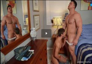 Bed And Cock Fest Part 2 – Johnny Rapid & Collin Simpson