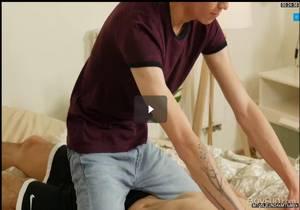 Roommate Rubdown – Curtis Cameron & Nick Danner