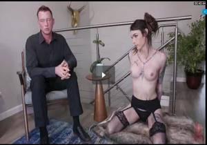 Daddys Little Brat – Chelsea Marie Punished by Pierce Paris Cock
