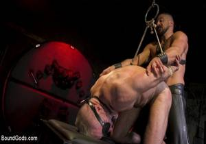 BG – Power Fuck – Hot Leather Men Inflict Muscle Domination & Intense Pain