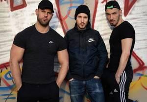 EV – Maxence loaded by 2 guys – Dimitri Venum & Juan Florian