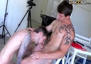 GH – Jeremy Barker Meets Milo Dawson In The GayHoopla Ice-Breaker