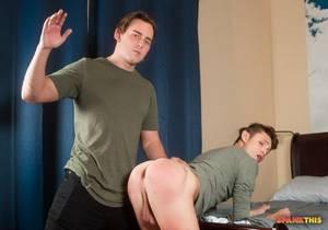 ST – Boy Breaker – Josh Brady Spanks Garrett Kinsley