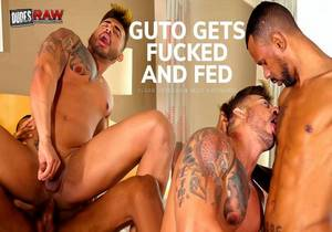 DRW – GUTO GETS FUCKED AND FED – Cesar & Guto