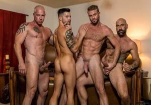 IM – Poker Night Orgy – Casey Everett, Link Parker, Ryan Carter & Drew Sebastian