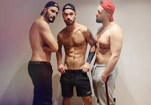 Archie is hunting – Archie S, Darko, Mathieu Ferhati (Bareback)
