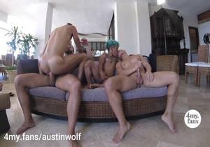 Beach House Orgy – Austin Wolf, Austin Avery, Brock Banks