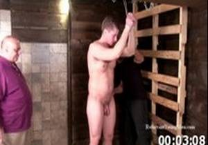 Muscle Stud Spanked by Rich and Chic