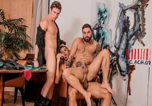Russo (Boy Lixo) & Thiago & Fabio – Bareback (Cassino)