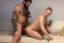 Behind The Scenes: Sex Sunday, Bastian Karim & Aaron Caban (Bareback)