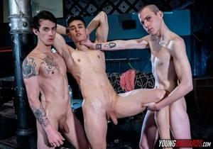 Takes Double The – Sly Conan, Mark Wolf & Sonny Davon (Bareback)